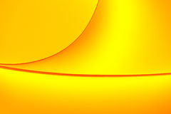 De geeloranje kleur stemt macrovormen als achtergrond Stock Fotografie