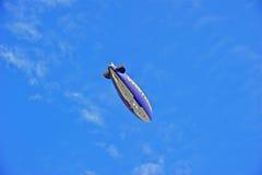De Geest van de Goodyearblimp van Amerika tijdens de vlucht royalty-vrije stock foto