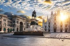 De geest van Duomomilaan, Italië, Europa royalty-vrije stock fotografie