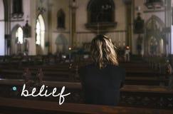 De Geest van het het Geloofsvertrouwen van de geloofshoop royalty-vrije stock fotografie