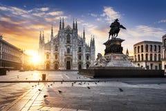 De geest van Milaan stock fotografie