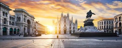 De geest van Milaan stock foto