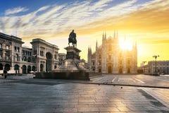 De geest van Milaan stock afbeelding