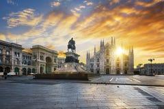 De geest van Milaan stock afbeeldingen