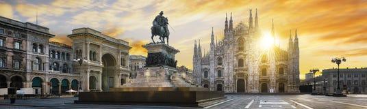 De geest van Milaan, Italië Stock Foto