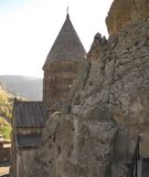De Gegardavank lanças do monastério literalmente - ' ` fotos de stock royalty free