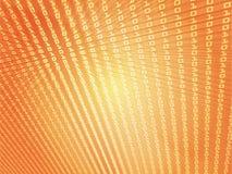 De gegevens abstracte illustratie van cijfers Stock Fotografie