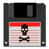 De gegevens van de piraat royalty-vrije illustratie
