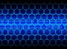 De Gegevensbescherming van de Bedrijfs cyberveiligheid Technologieprivacy Stock Afbeelding