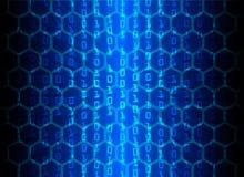 De Gegevensbescherming van de Bedrijfs cyberveiligheid Technologieprivacy Royalty-vrije Stock Afbeelding