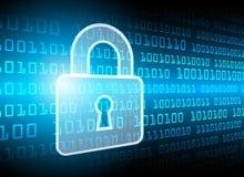 De Gegevensbescherming van de Bedrijfs cyberveiligheid Technologieprivacy Stock Foto's