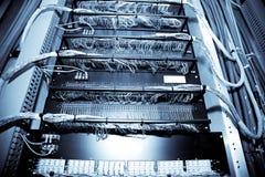 De gegevenscentrum van het netwerk Stock Afbeeldingen