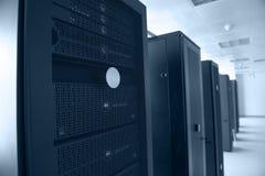 De gegevenscentrum van Internet Stock Fotografie