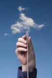 De gegevensverwerking van de wolk royalty-vrije stock foto