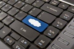 De Gegevensverwerking van de wolk Royalty-vrije Stock Fotografie