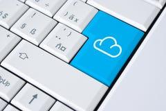 De gegevensverwerking van de wolk Royalty-vrije Stock Afbeeldingen