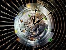 De Gegevensverwerking van het uurwerk stock illustratie