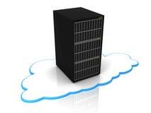 De gegevensverwerkingsserver van de wolk Stock Afbeelding