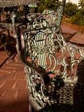 De gegoten stoelen van het Brons Royalty-vrije Stock Afbeelding