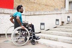 De gehandicapten hebben tot toegang Royalty-vrije Stock Foto's