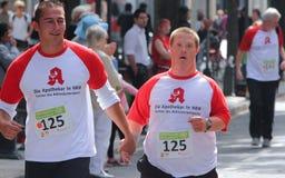 De gehandicapten rennen Stock Foto