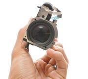 De Gehechtheid van de lens Stock Foto