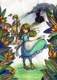 De geheime Tuin royalty-vrije illustratie
