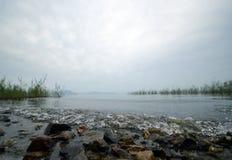 De Geheime Tuin van Japan ` s in biwa lake  royalty-vrije stock afbeeldingen