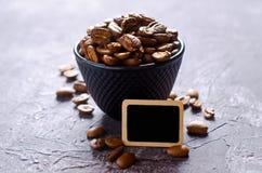 De gehele Bonen van de Koffie Stock Afbeelding
