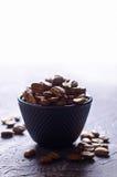 De gehele Bonen van de Koffie Stock Afbeeldingen