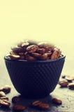 De gehele Bonen van de Koffie Stock Fotografie