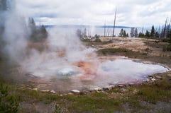 De geiser van Yellowstone royalty-vrije stock afbeeldingen
