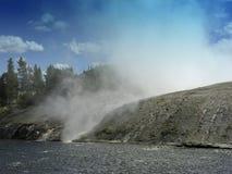 De Geiser van Yellowstone Stock Afbeelding