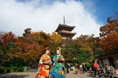 De Geisha van Japan Stock Foto
