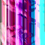 De gekleurde abstracte glitch achtergrond van het kunstontwerp Royalty-vrije Stock Foto's