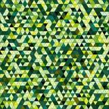 De gekleurde achtergrond van het driehoeks naadloze patroon Royalty-vrije Stock Foto's