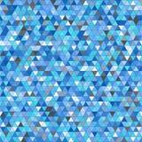 De gekleurde achtergrond van het driehoeks naadloze patroon Royalty-vrije Stock Afbeelding