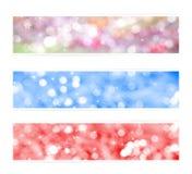 De gekleurde achtergronden van Kerstmis Royalty-vrije Stock Afbeelding