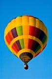 De gekleurde Ballon van de Hete Lucht Stock Afbeelding
