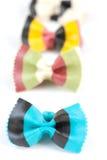 De gekleurde deegwaren van harde tarwesemilina Royalty-vrije Stock Afbeelding