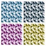 De gekleurde Patronen van de Driehoek Royalty-vrije Stock Foto's