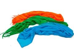 De gekleurde sjaals van vrouwen Royalty-vrije Stock Foto