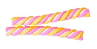 De gekleurde Stok van het Suikergoed stock fotografie