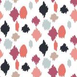 De gekrabbelde achtergrond van het vlekken naadloze patroon vector illustratie
