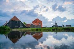 De Gekroonde Poelenburg, De Kat, esprit de moulin à vent de Windmill De Zoeker photographie stock