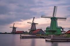 De Gekroonde Poelenburg, De Kat, moulin à vent de Windmill De Zoeker et image stock