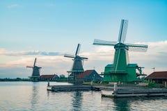 De Gekroonde Poelenburg, De Kat, moulin à vent de Windmill De Zoeker et images stock