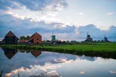 De Gekroonde Poelenburg, De Kat, spirito del mulino a vento di Windmill De Zoeker fotografia stock libera da diritti