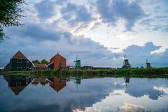 De Gekroonde Poelenburg, De Kat, spirito del mulino a vento di Windmill De Zoeker fotografie stock