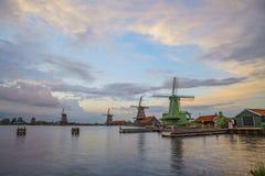 De Gekroonde Poelenburg, De Kat, Windmill De Zoeker, Houtzaagmol fotografie stock